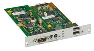 Black Box KVM Receiver,Audio,RS232,USB 2.0(36MPBS),Expansion Card,Mod Ext ACX1MR-ARE
