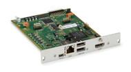 Black Box KVM Receiver, DVI-D, USB HID, CATx, Modular Ext Card ACX1MR-HDMI-C