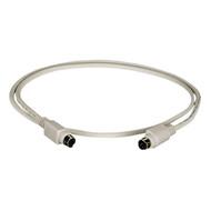 Black Box 6 Pin Mini DIN Cable Male/Male 20 Ft. EVMPS03-0020-MM