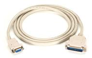 Black Box Premium RS232 AT Modem Cable DB9F/DB25M 6Ft. EVMTBMC-0006