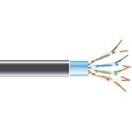 Black Box 1000' CAT5e 100MHz Stranded Bulk Cable FTP CM PVC BK EVNSL0172BK-1000