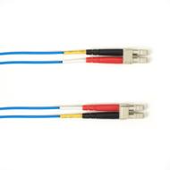 Black Box 1m (3.2ft) LCLC BL OM2 MM Fiber Patch Cable INDR Zip OFNR FOCMR50-001M-LCLC-BL