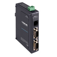 Black Box 2-Port Industrial Serial Device Server LES422A