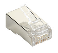 Black Box CAT5e Shielded Plug 100-Pack C5E-MP-S-100PAK