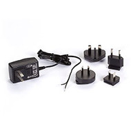 Black Box 120-VAC/12-VDC Wallmount Power Supply with Bare Leads PS1003-R2