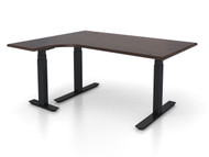 "Adjustable Height Left 48""x60"" Ergonomic Office Desk"