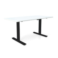 "Height Adjustable 30""x60"" Premium Desk - Icicle"