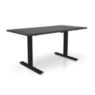 "Height Adjustable 30""x 48"" Ergonomic Business Desk - Sable"