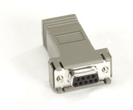 Black Box Microswitch AT Adapter DB9 F To RJ45 FA043