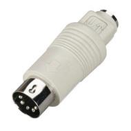 Black Box Mini DIN Adapter 6-Pin Mini DIN Female to 5-Pin DIN Male FA212-R2