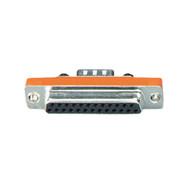 Black Box RS232 Serial Slimline Adapter DB9 Male To DB25 Female FA610