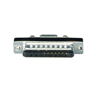 Black Box RS232 Serial Slimline Adapter DB9 Female To DB25 Male FA612