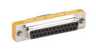 Black Box RS232 Serial Slimline Adapter DB9 Female to DB25 Female FA616