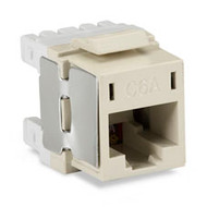 Black Box 10-Gigabit CAT6A Jack, Off White FM10G23-R2