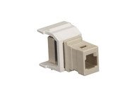 Black Box Snap Fitting Keystone MT-RJ Adapter White FM350