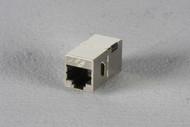 Black Box Cat6 Shielded Straight-Pin Coupler Office Silver FM608