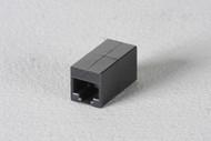 Black Box Cat6 Unshielded Straight-Pin Coupler Office Black FM609