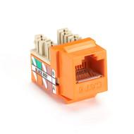 Black Box Gigatrue Plus Cat6 Jack Orange FM636C