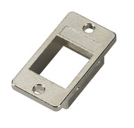 Black Box Panel Mount Bezel Keystone Opening Silver FMT1000