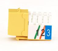 Black Box Usoc Jack RJ-11 Yellow FMT248