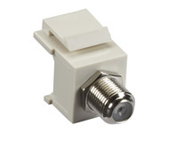 Black Box Snap Fitting Keystone F-Connector Office White FMT331-R2