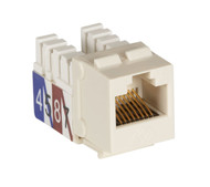 Black Box Cat3 Unshielded Keystone Jack Office White FMT369-R2