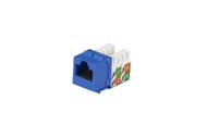 Black Box Cat5E Unshielded Keystone Jack Blue FMT920-R2