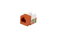 Black Box Cat5E Unshielded Keystone Jack Orange FMT926-R2
