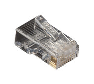 Black Box Cat5E Unshielded Modular Plug 100-Pack FMTP5E-100PAK