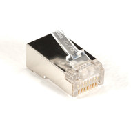 Black Box Cat5E Shielded Modular Plug 50-Pack FMTP5ES-50PAK