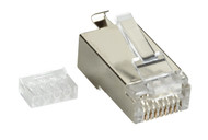 Black Box Cat6 Shielded Modular Plug 100-Pack FMTP6S-100PAK