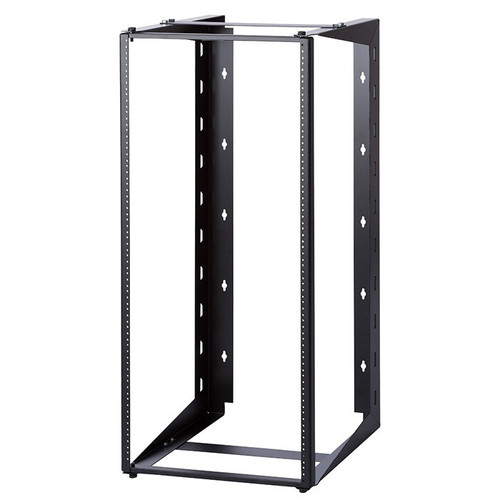 """12U Dual Swing-out Open Frame Wall Mount Rack 12"""" USA Made"""