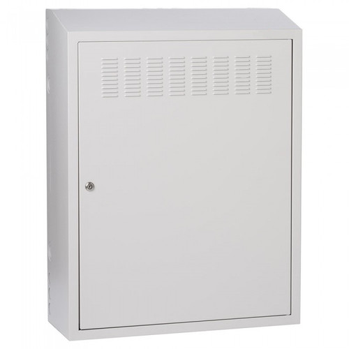 "32"" Height Security Wallmount Grey Transit Box - USA Made"