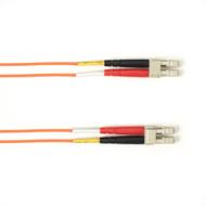 Black Box 10m (32.8ft) LCLC OR OM1 MM Fiber Patch Cable INDR Zip OFNP FOCMP62-010M-LCLC-OR