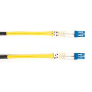 Black Box 15m (49.2ft) LCLC YL OS2 SM Fiber Patch Cable INDR Zip OFNR FOSM-015M-LCLC