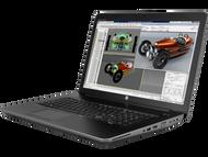 HP ZBook 17 G4 W10P-64 i7 7700HQ 2.8GHz 256GB NVME 8GB 17.FHD3 WLAN BT BL FPR M1200 Cam Notebook PC