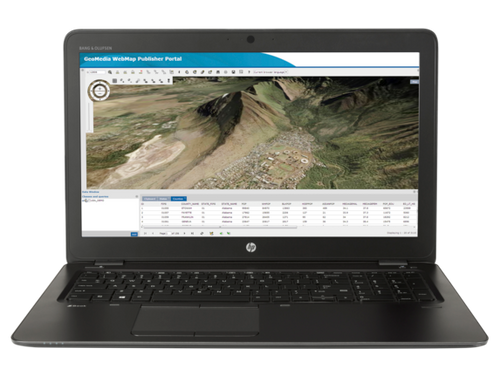 HP ZBook 15 G3 W10P-64 X E3-1505M v6 3.0GHz 512GB SSD 16GB 15.6FHD WLAN BT BL FPR M2200 Cam Notebook PC