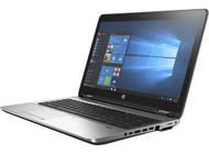 HP ProBook 650 G3 W10P-64 i5 7300U 2.6GHz 256GB SSD 8GB(1x8GB) DVDRW 15.6FHD WLAN BT BL FPR No-NFC Serial Cam Notebook