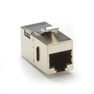 Black Box 10-Pack CAT6A Keystone Coupler Shielded C6ACP70S-SV-10PAK