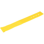 "Black Box Hook and Loop Lite Cable Wraps, 1"" x 6"", 10-Pack, Yellow FT9383"