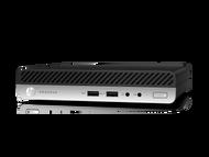 HP ProDesk 400 G4 W10P-64 i3 8100T 3.1GHz 1TB SATA 8GB(2x4GB) DDR4 2666 WLAN BT DisplayPort Mini