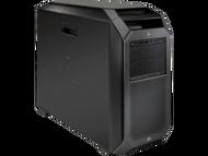 HP z8 G4 W10P-64 X Gold 6140 2.3GHz 2P 2-1TB NVME 128GB(8x16GB) ECC DDR4 2666 BluRay Writer P4000 8GB 1125W