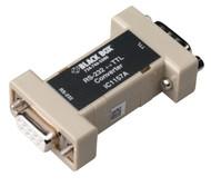 Black Box DB9 to DB9 Async RS232 to 5V TTL Interface Converter IC1157A