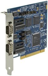Black Box PCI bus serial board two port RS232/422/485 two DB9 IC133C-R2
