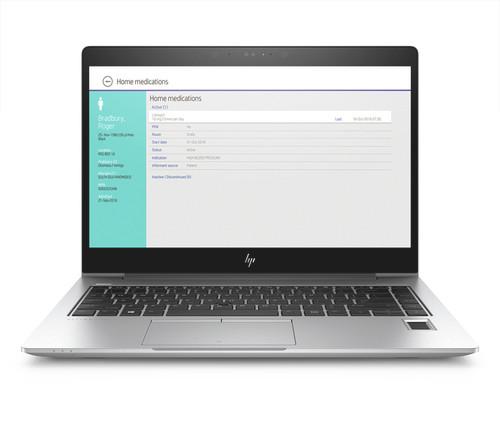 HP EliteBook 840 G5 W10P-64 i7 8650U 1.9GHz 256GB NVME 8GB(1x8GB) DDR4 2400 14.0FHD WLAN BT FPR No-NFC Cam