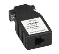 Black Box Async RS232 to RS485 interface converter DB9 to RJ11 IC623A-F