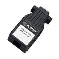 Black Box Async RS232 to RS485 interface converter DB9 to RJ45 IC624A-F