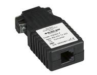 Black Box Async RS232 to RS422 Interface Converter, DB9 to RJ-11 IC630A-F