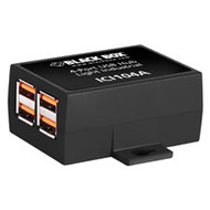Black Box Industrial USB 2.0 Hub, 4-Port ICI104A