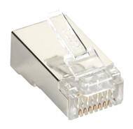 Black Box CAT6 Shielded Plug 50-Pack C6-MP-S-50PAK